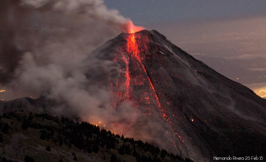 June 29 , 2016. EN.  Ubinas , Sabancaya , Colima , Nevado Del Ruiz .