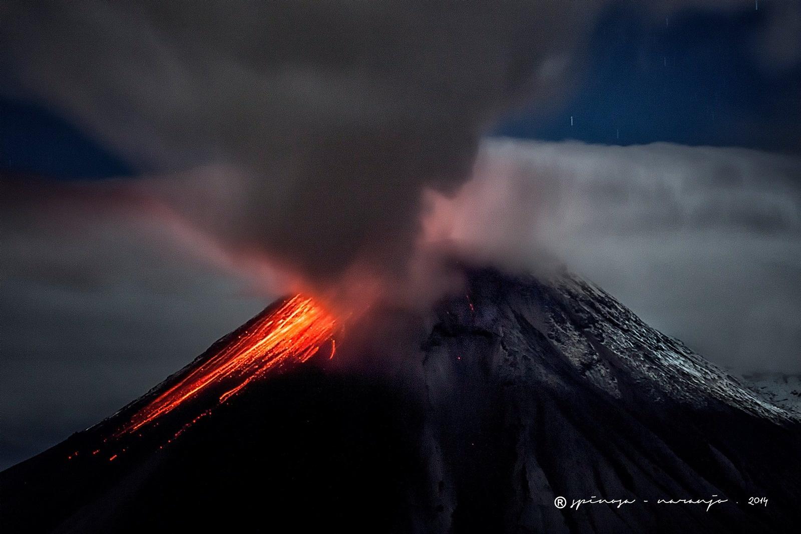 11/06/2016. FR. Bulusan , Tungurahua , Ibu .