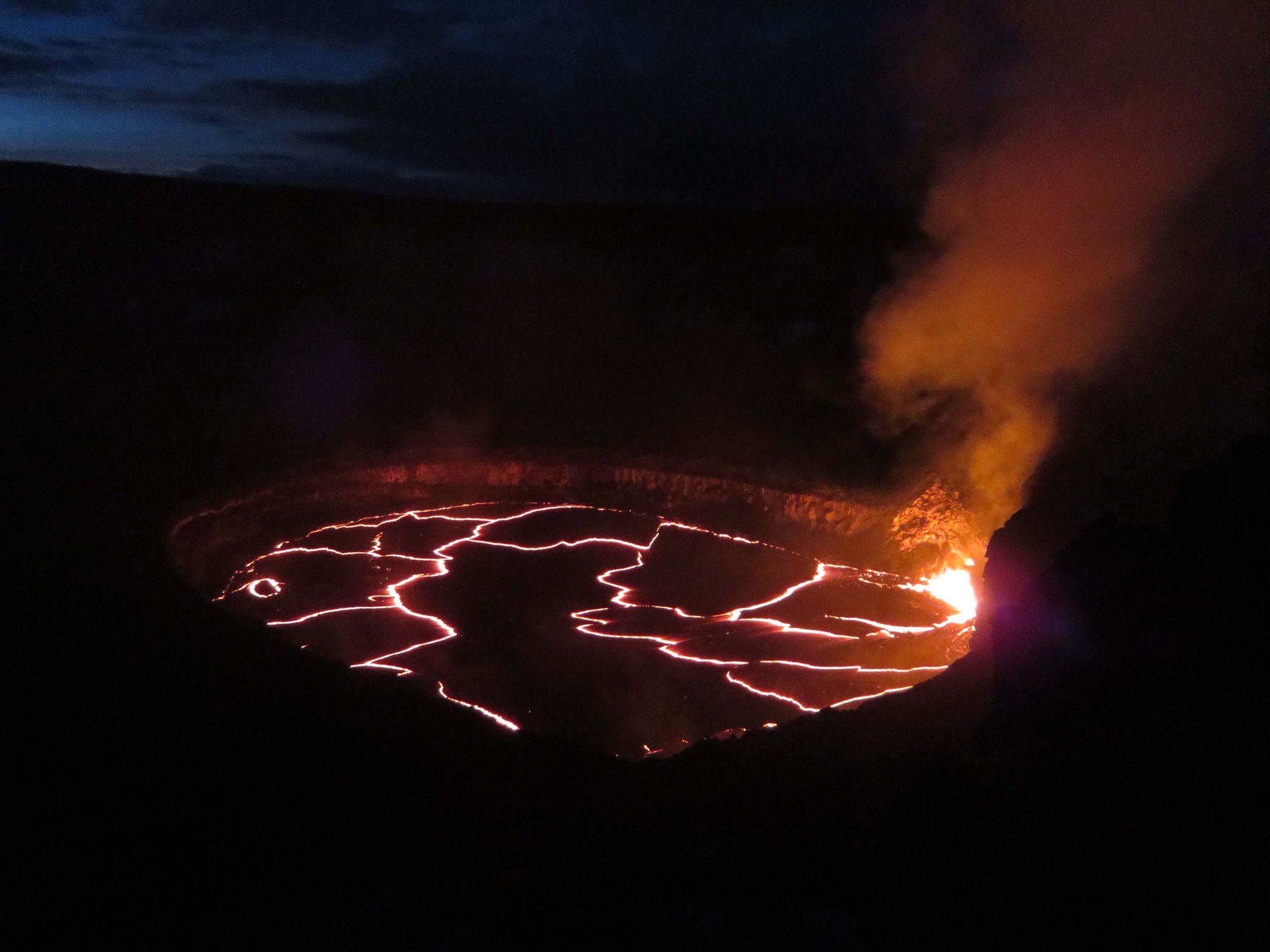 July 01 , 2016. EN.  Kilauea , Turrialba , Dukono.