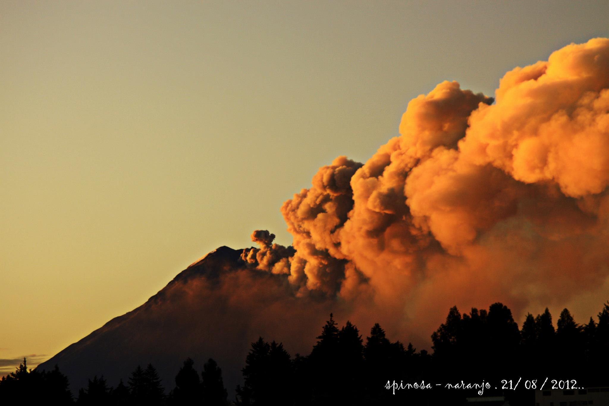 March 07 , 2017. EN.  Reventador , Tungurahua , Cotopaxi , California volcanoes , Fuego .