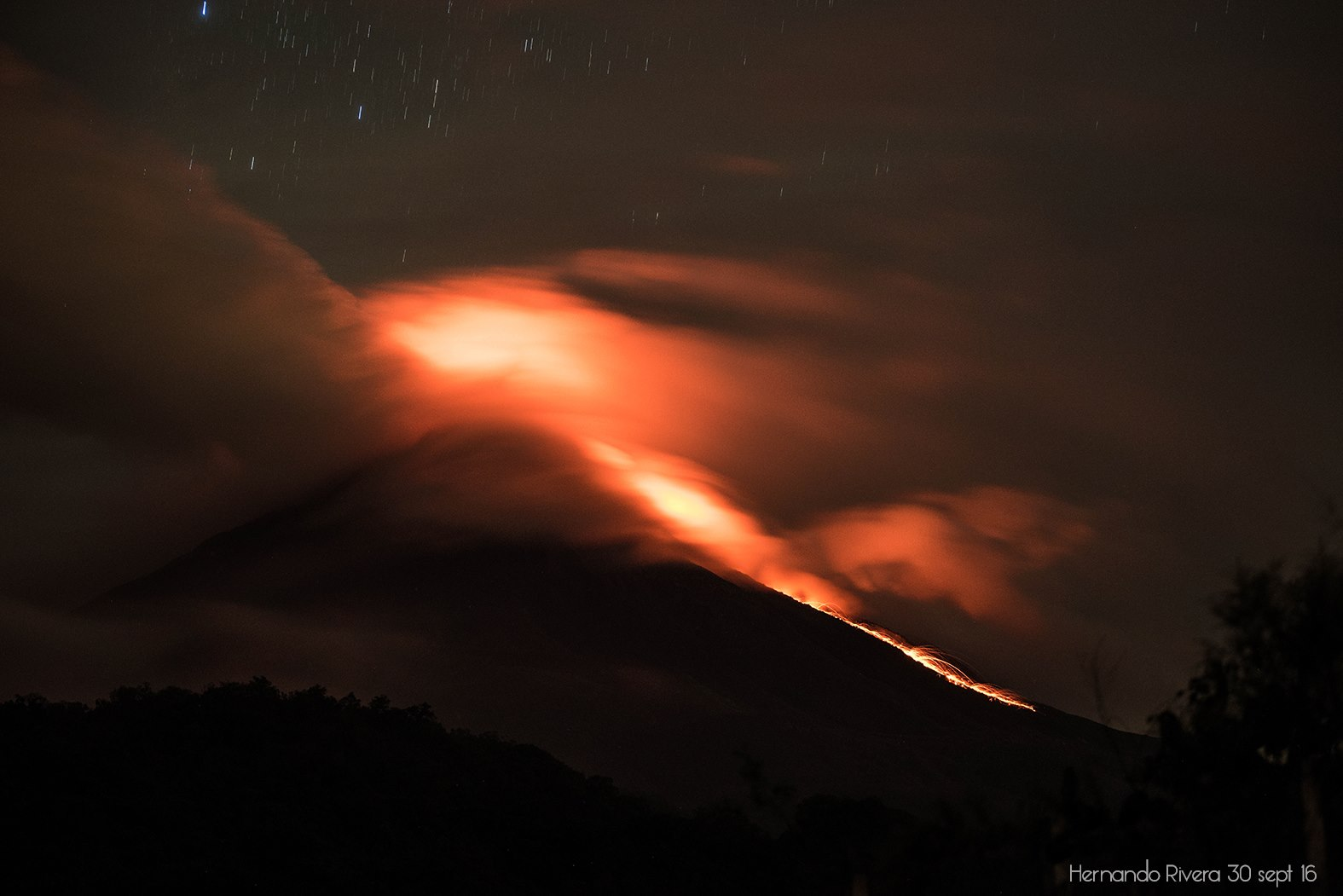 01 Octobre 2016. FR. Katla , Turrialba , Ruapehu , Colima .
