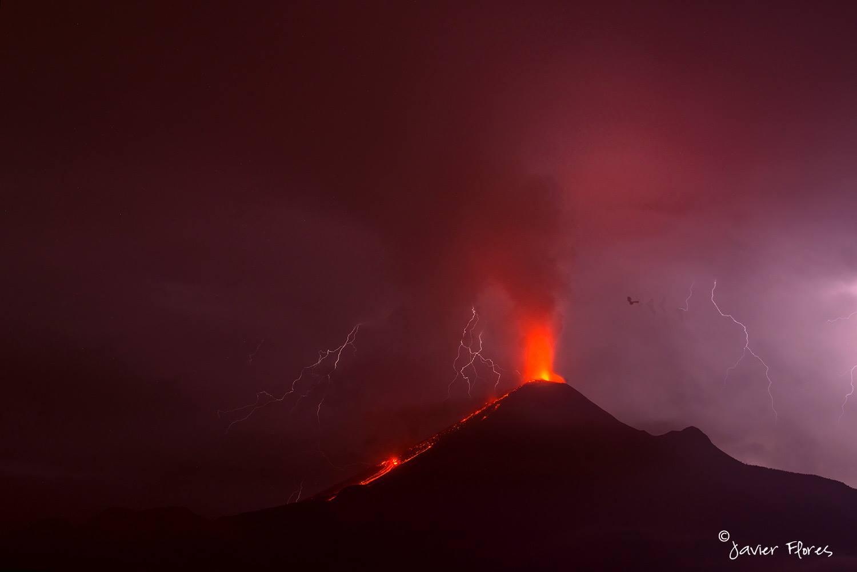 October 05 , 2016.  EN. Piton de la Fournaise , Copahue , Colima , Turrialba , Bulusan .