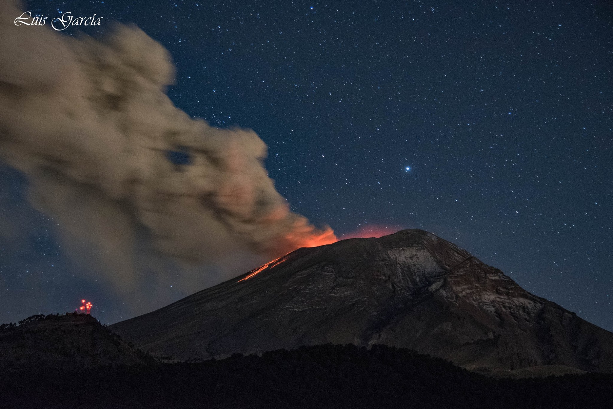 01/12/2016. FR. Popocatepetl , Turrialba , Nevado Del Ruiz , Chirinkotan.