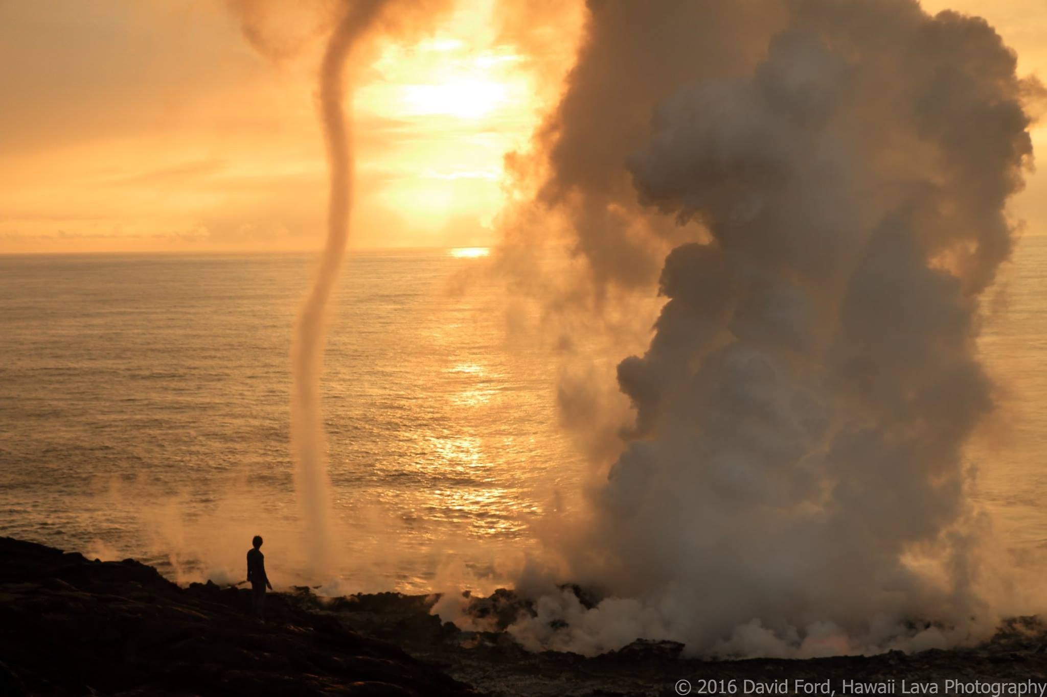 December 15 , 2016. EN. Guallatiri , Kilauea , Colima , Turrialba .