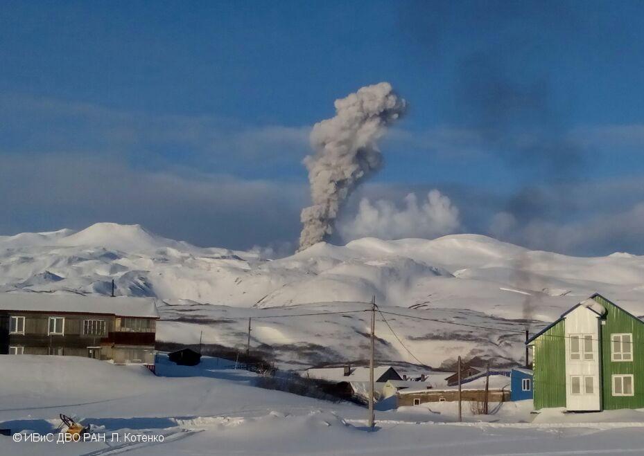 December 31, 2016. EN.  Bogoslof , Ebeko , Nevado Del Ruiz .