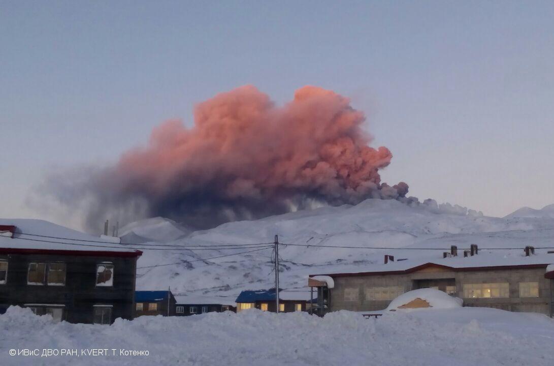 November 04 , 2019. EN . Alaska : Shishaldin , Kamchatka : Ebeko , Chile : Copahue , Philippines : Taal , Mexico : Popocatepetl .
