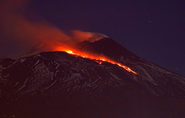 April 11 , 2017. EN.  Etna , Sabancaya , Kambalny , Bulusan .