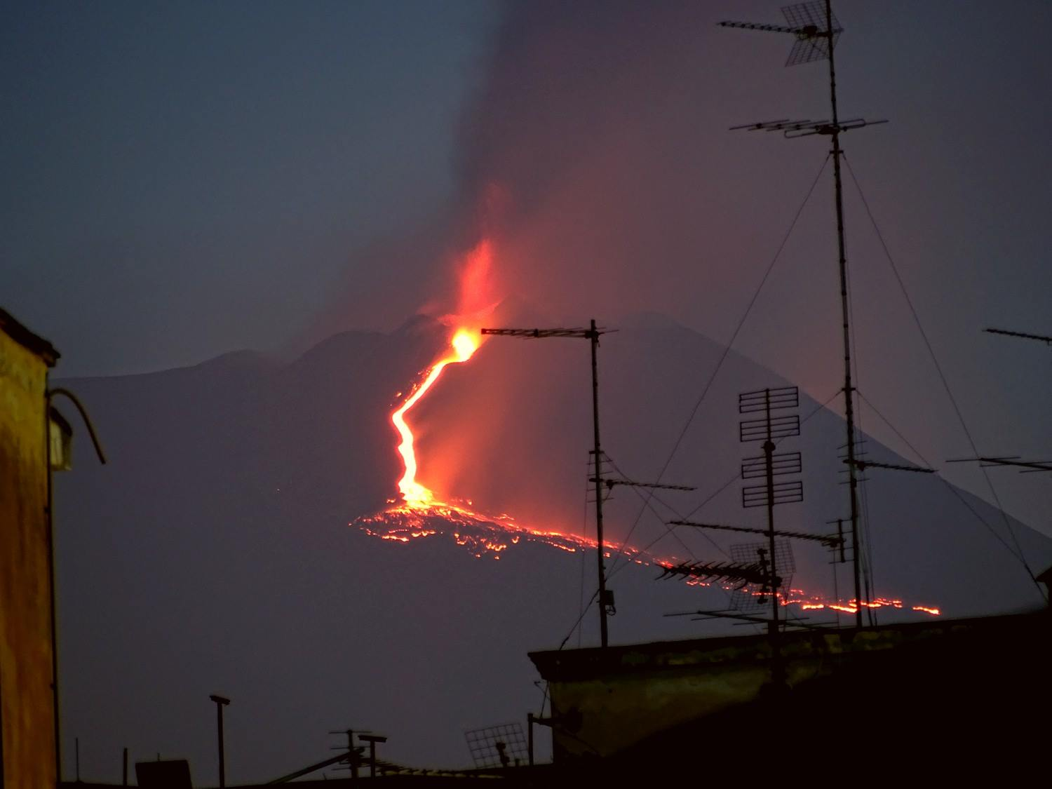 April 27 , 2017. EN.  Etna , San Miguel , Poas , Nishinoshima , Popocatepetl.