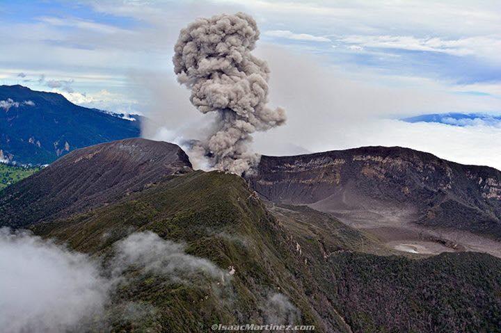 May 30 , 2017. EN . Bogoslof , Poas , Turrialba , Fuego , Cotopaxi , Dukono .