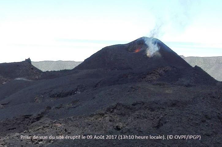 August 20 , 2017. EN. Piton de la Fournaise , San Cristobal , Misti , Ticsani , Nevados de Chillan .