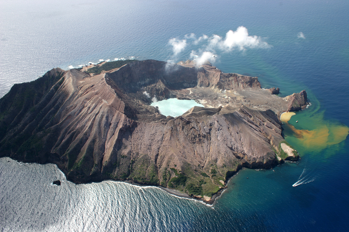 October 30 , 2017. EN. Agung , Cleveland , White Island , Turrialba , Poas , Rincon de la Vieja .