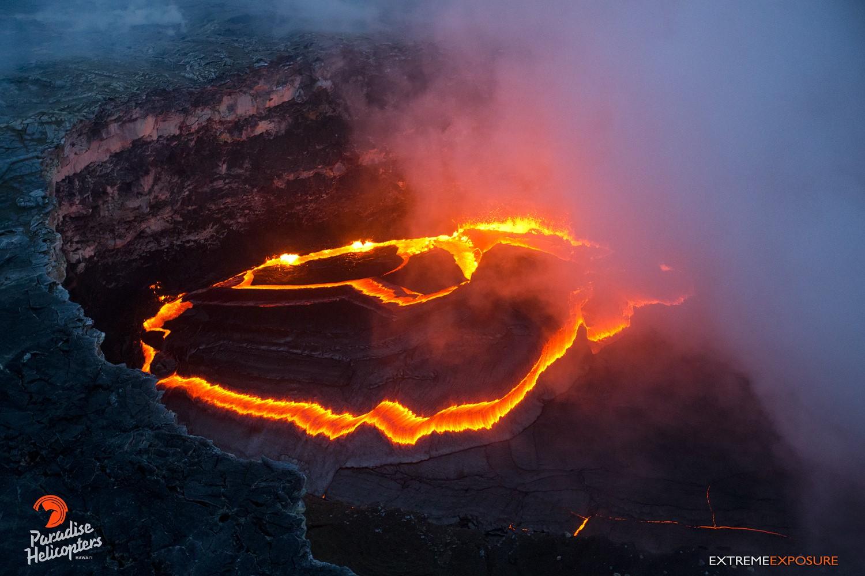 November 16 , 2017. EN . Kilauea , Nevado del Ruiz , Ebeko , Kanlaon , Lopevi .