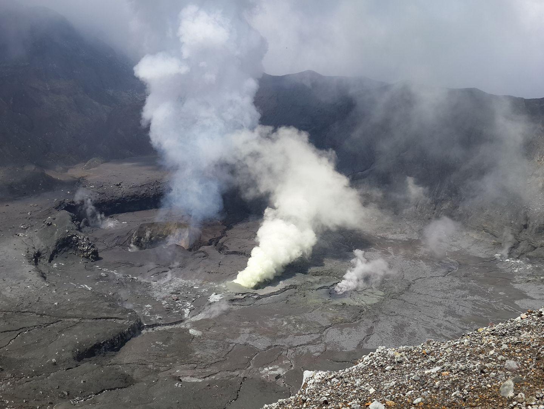 14/09/2017. FR. Kilauea , Poas , Turrialba , Kanlaon , Solfatara di Pozzuoli.