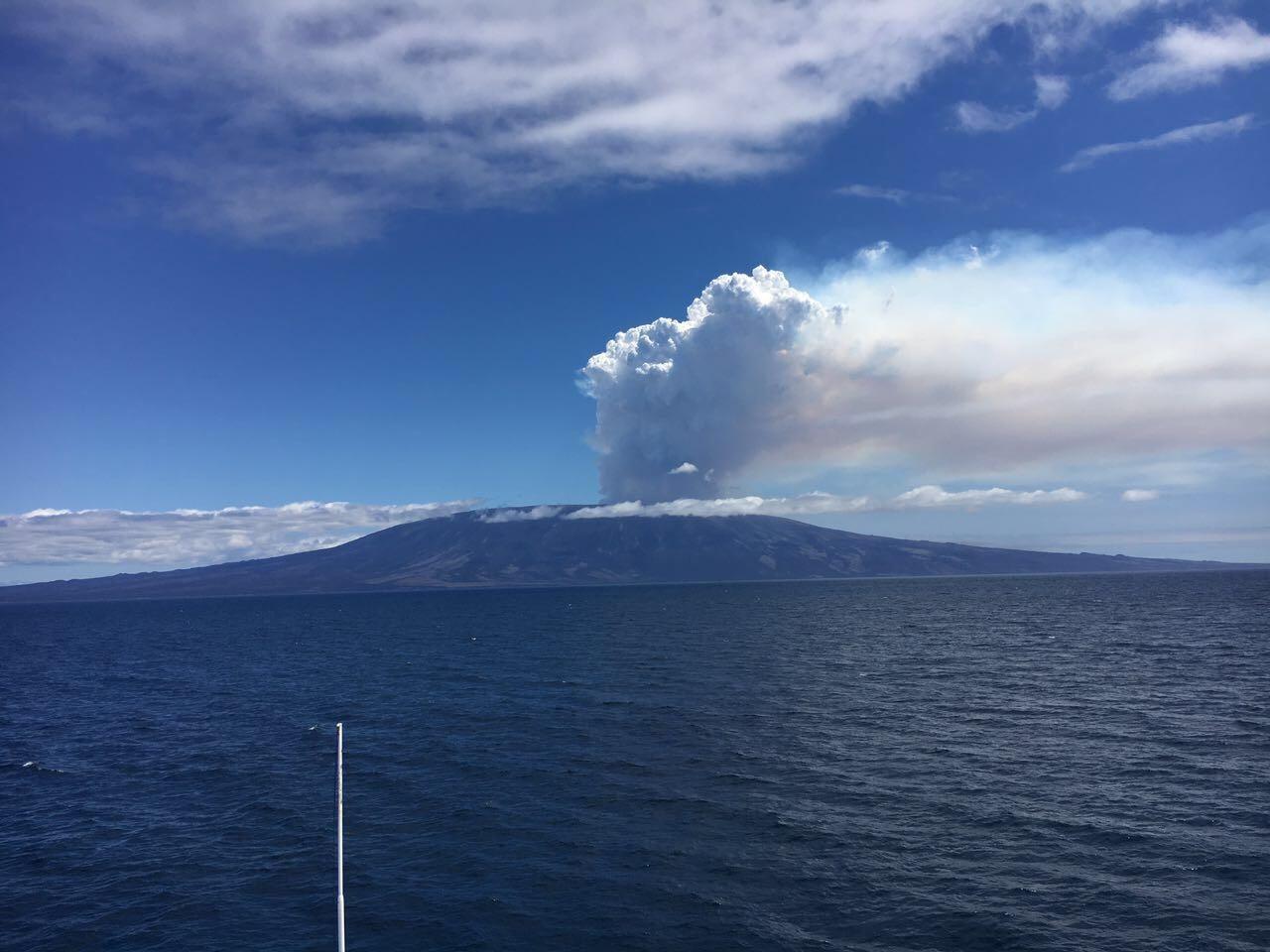 05/09/2017. FR. Fernandina , Sabancaya , Bárðabunga , Poas , Turrialba .