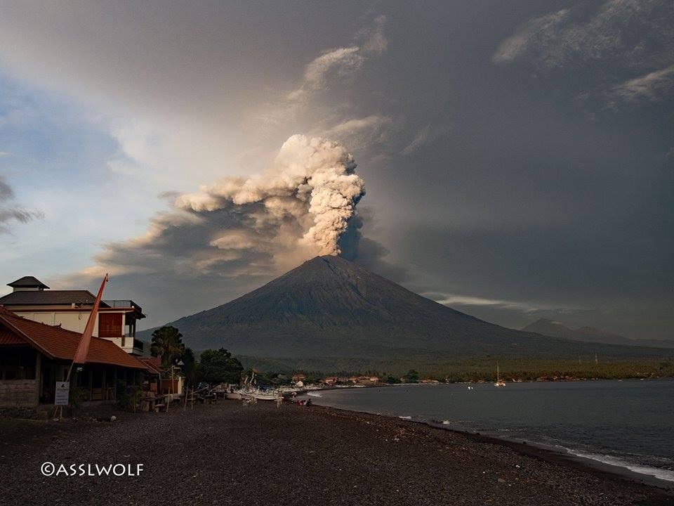 29 Novembre 2017. FR . Agung , Etna , Kuchinoerabujima , Cumbal , Pacaya .