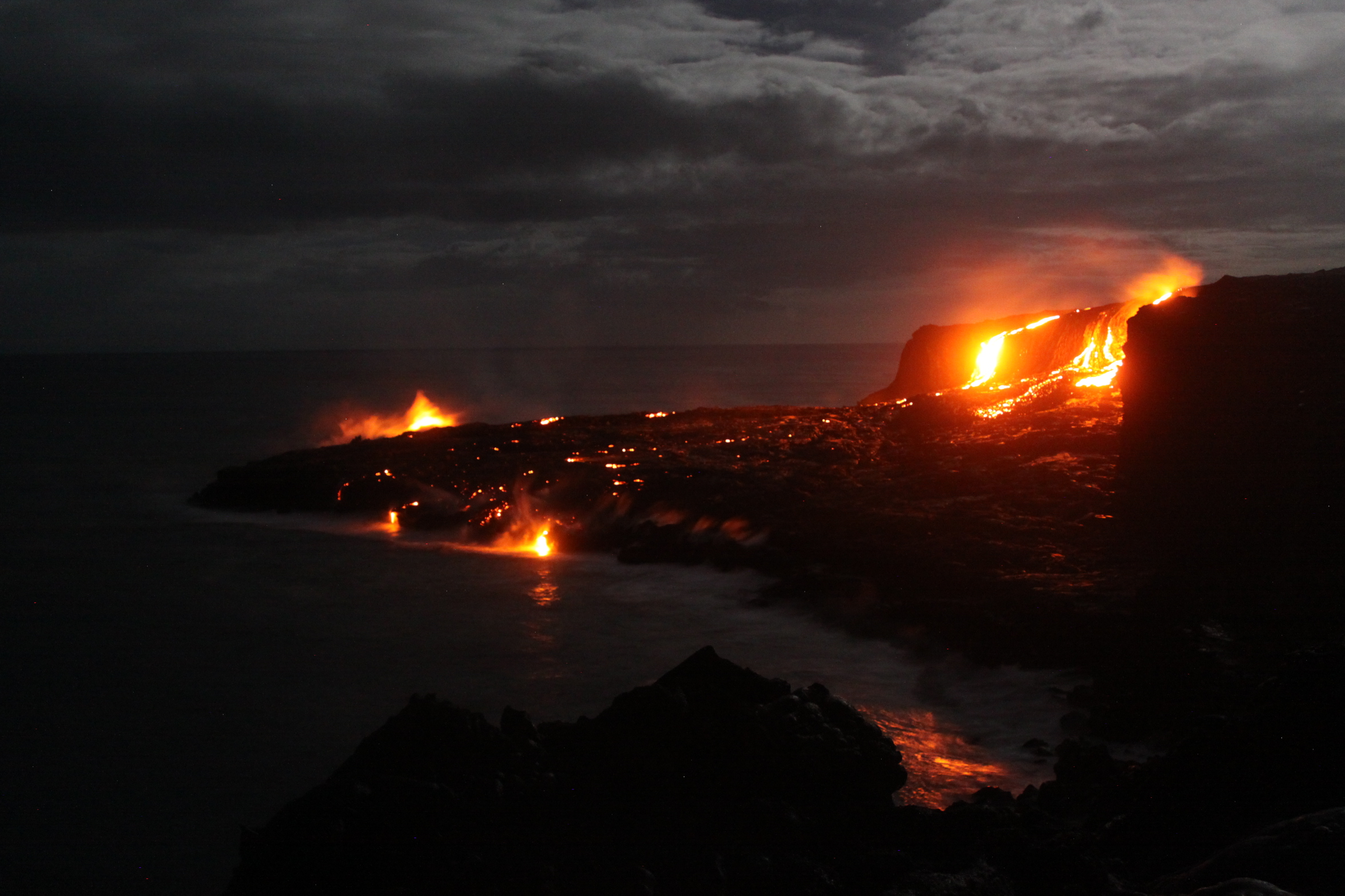 02 Novembre 2017. FR.  Kilauea , Stromboli , Cumbal , Reventador .