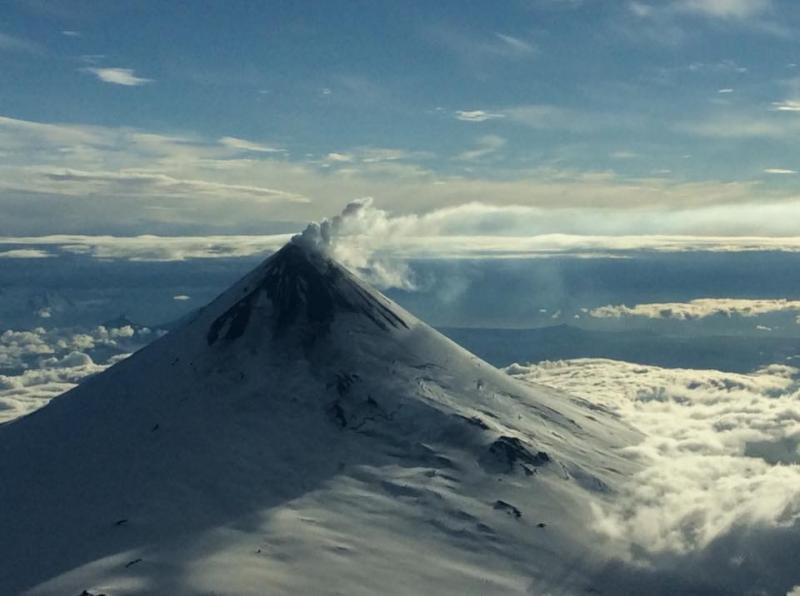 December 07 , 2017. EN . Agung , Nevados de Chillan , Shishaldin , Ambae .