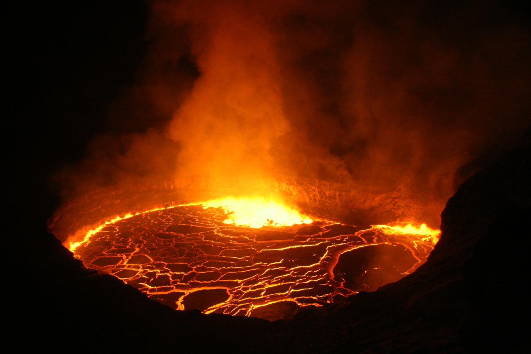 22 Decembre 2017. FR. Kilauea , Klyuchevskoy , Villarica , Popocatepetl.