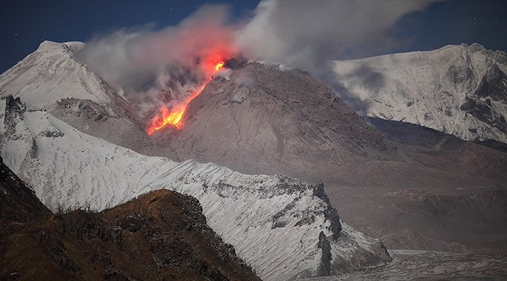 December 09 , 2017. EN. Agung , Öræfajökull , Sheveluch , Shishaldin , Kanlaon .