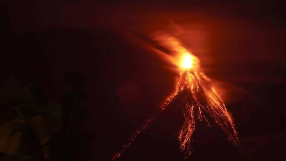 18 Janvier 2018. FR. Kadovar , Mayon , Nevado del Ruiz , Klyuchevskoy , Popocatepetl.