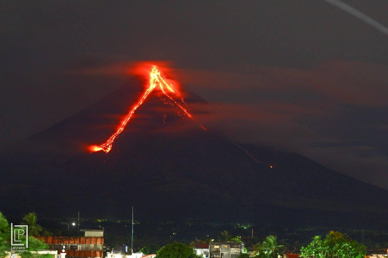 January 16 , 2018.  EN.  Mayon , Kadovar / Biem , Sabancaya , Sinabung .