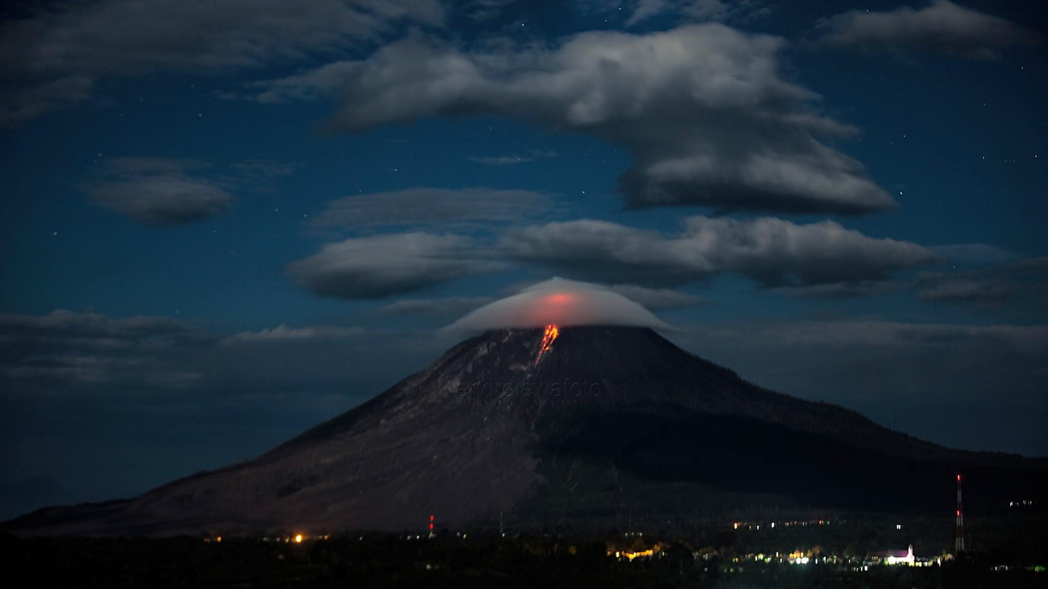 16 Fevrier 2018 . FR . Mayon , Mont Io , Galeras , Popocatepetl , Sinabung .