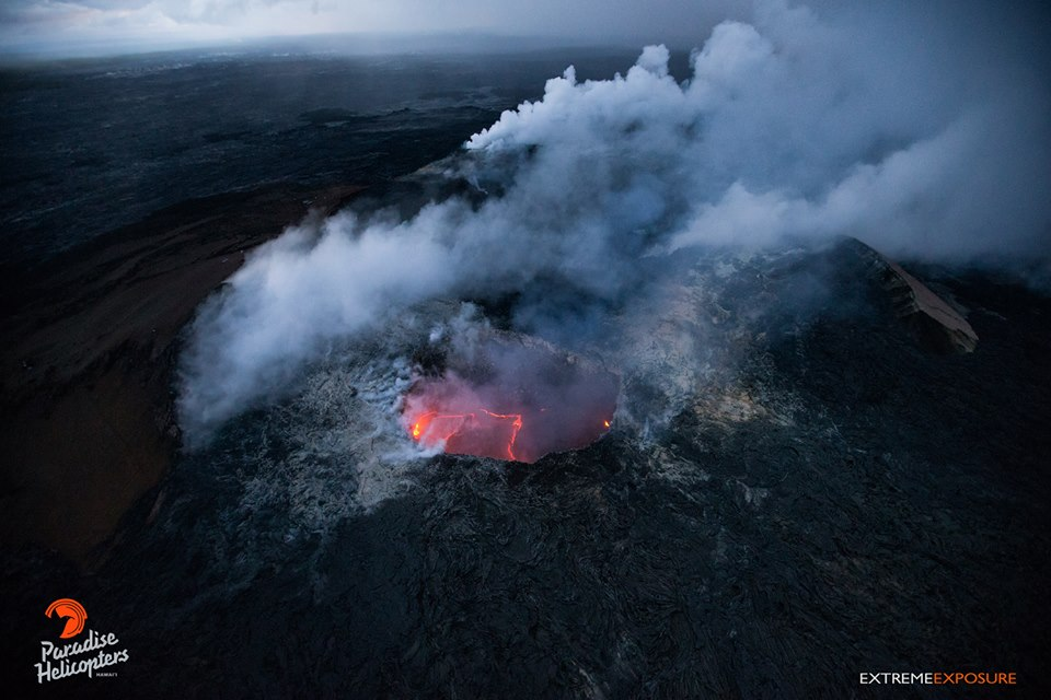 February 07 ,  2018. EN.   Kilauea , Mayon , Nevado del Ruiz , Shishaldin , Nevados de Chillan.