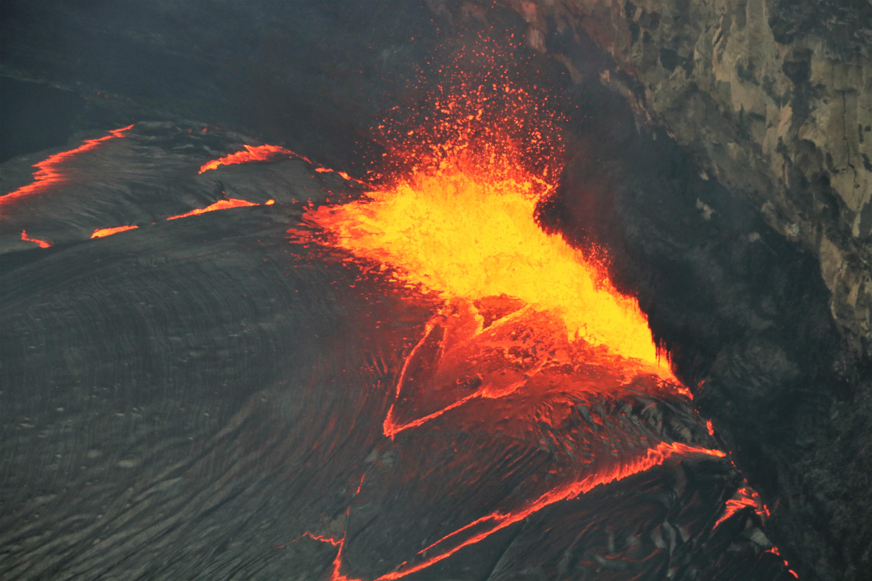 February 23 , 2018. EN.  Mayon , Kilauea , Cleveland , Cumbal , Popocatepetl .