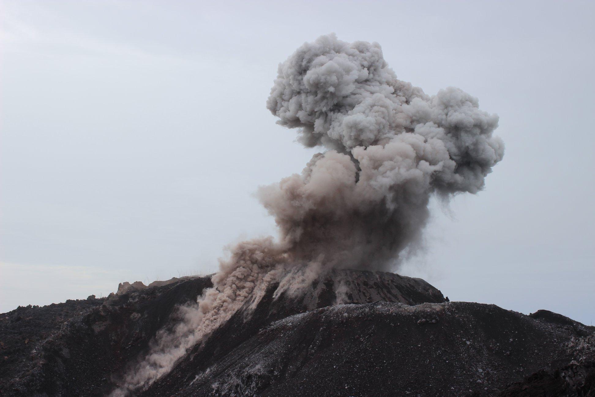 July 29 , 2018. EN.  Colombia : Nevado del Ruiz , Hawai : Kilauea , Guatemala : Pacaya , Indonesia : Ibu , Italy / Sicily : Etna .