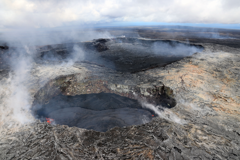 March 30, 2018. EN.  Kilauea , Cerro Machin , Sabancaya , Sinabung .