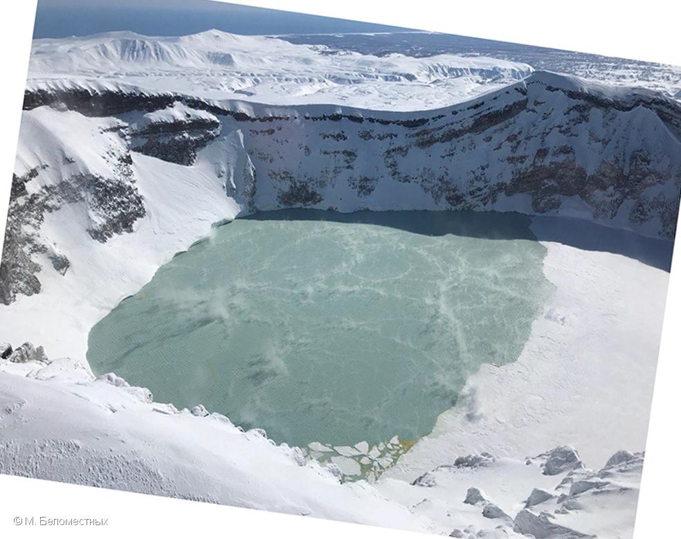 April 14 , 2018. EN.  Cleveland , Maly Semyachik , Nevado del Ruiz , Turrialba , Poas , Rincon de la Vieja , Dukono .
