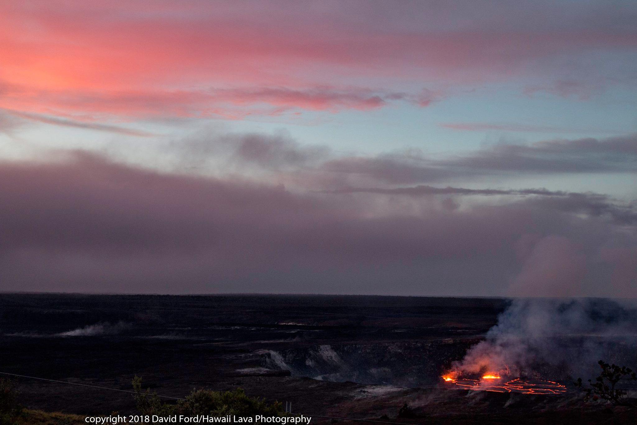 April 27 , 2018.  EN.  Ioyama , Kilauea , Guallatiri , Nevado del Ruiz.