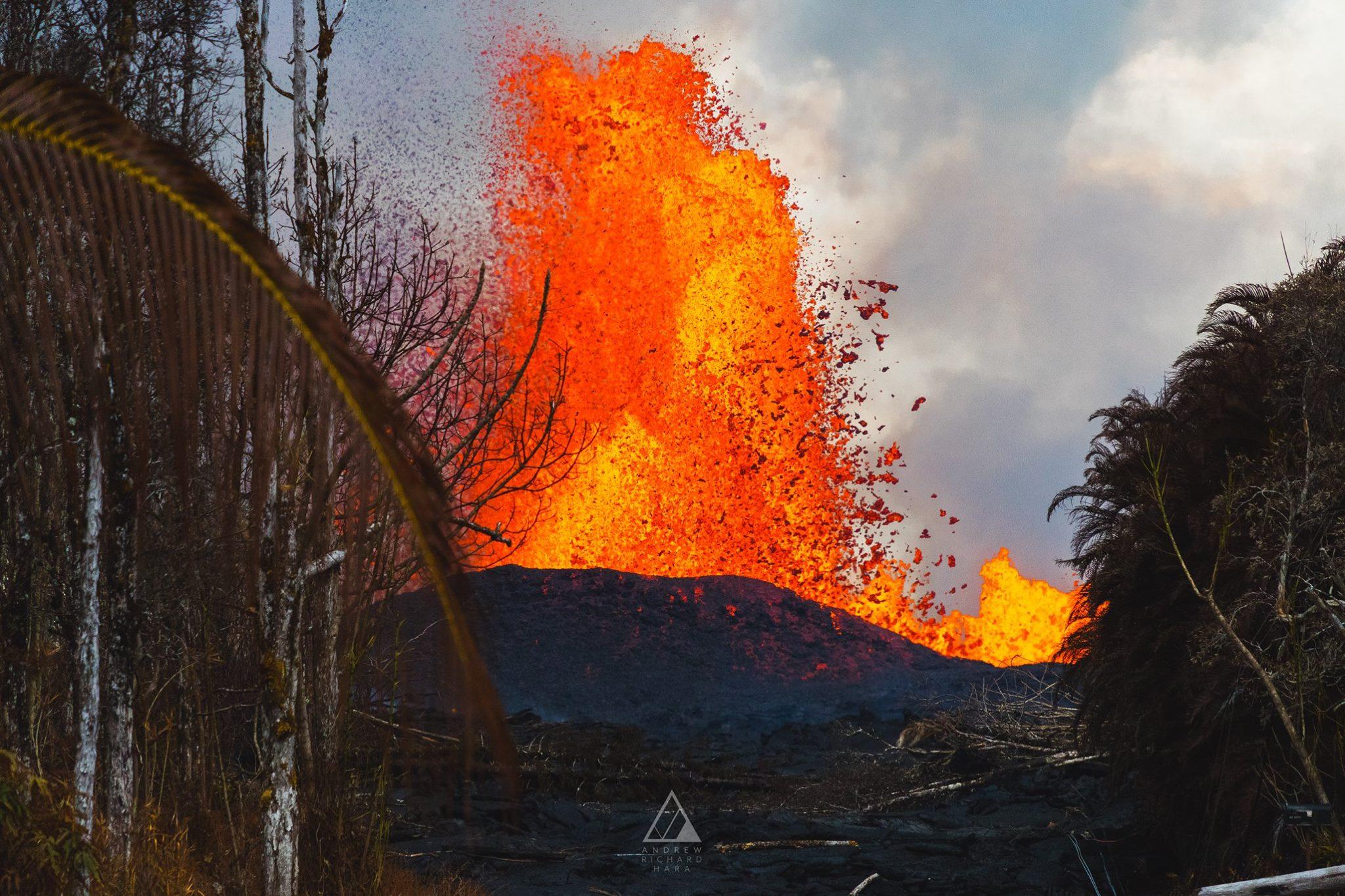 May 31 , 2018.  EN.  Pu'u 'Ō'ō / Kilauea , White Island (Whakaari) , Pacaya , Cerro Machin , Piton de la Fournaise .