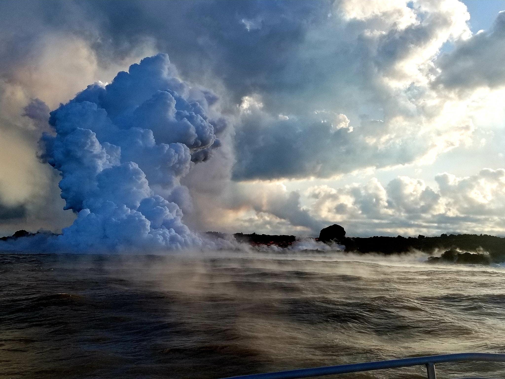 20 Juin 2018. FR. Hawai :  Pu'u 'Ō'ō / Kilauea , Colombie : Galeras , Philippines : Mayon , Kamchatka : Ebeko.