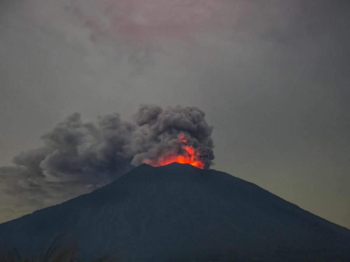 29 Juin 2018. FR. Indonésie : Agung , Equateur / Galapagos : Sierra Negra , Perou : Sabancaya , Hawai : Kilauea .