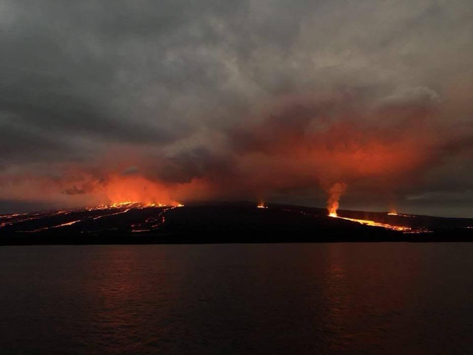 July 09 , 2018.  EN.  Chile : Copahue , Ecuador / Galapagos : Sierra Negra , Hawai : Kilauea , Ecuador : Reventador .