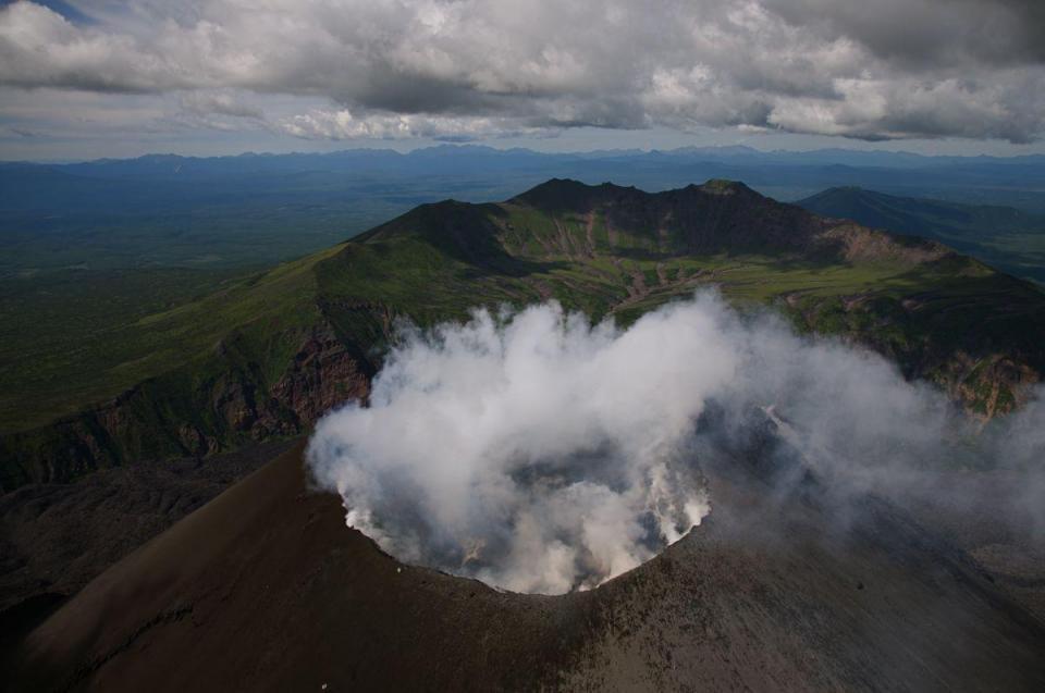 August 22 , 2018. EN.  Kamchatka : Ebeko , Colombia : Chiles / Cerro Negro , Hawai : Kilauea , Guatemala : Pacaya .
