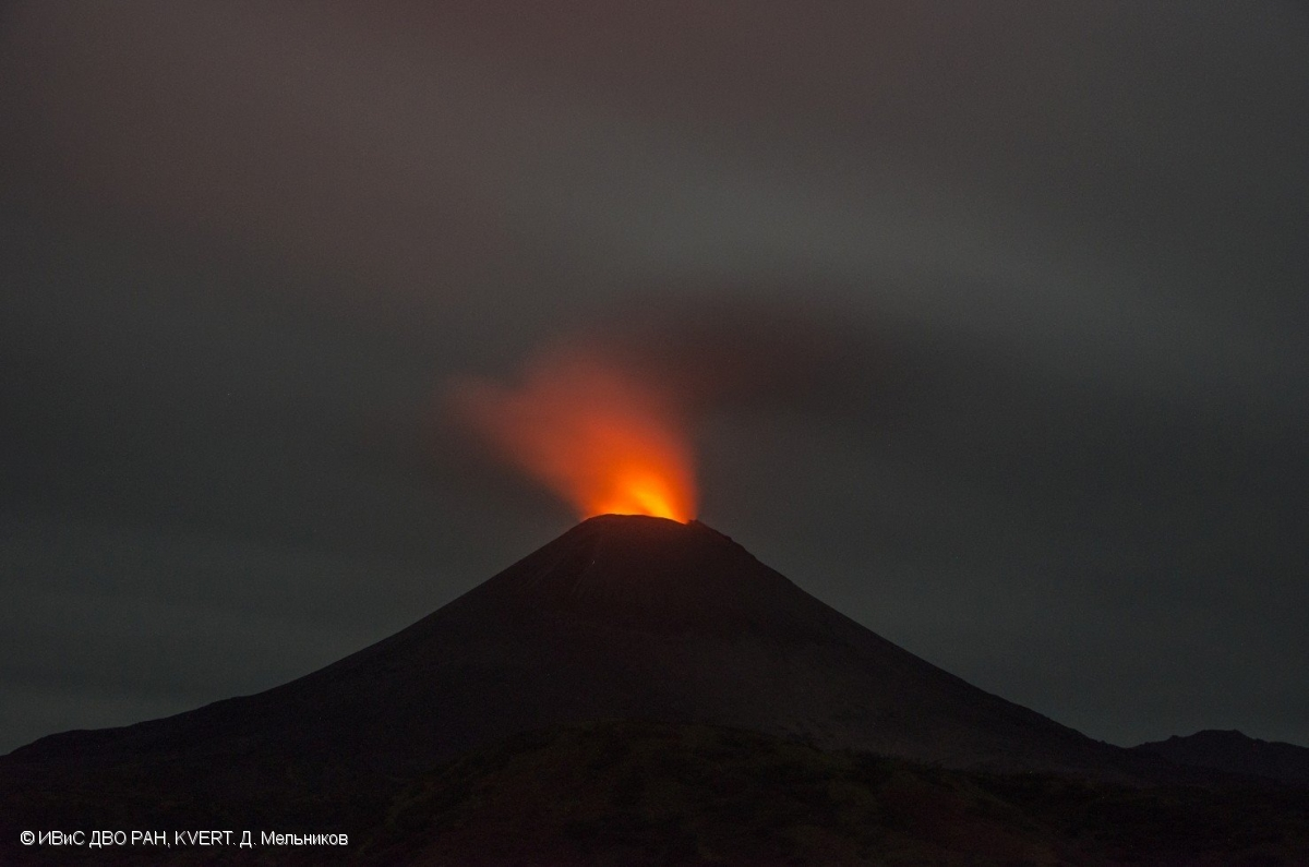 September 28 , 2018 . EN.  Hawaï : Kilauea , La Réunion : Piton de la Fournaise , Alaska : Veniaminof , Kamchatka : Karymsky .