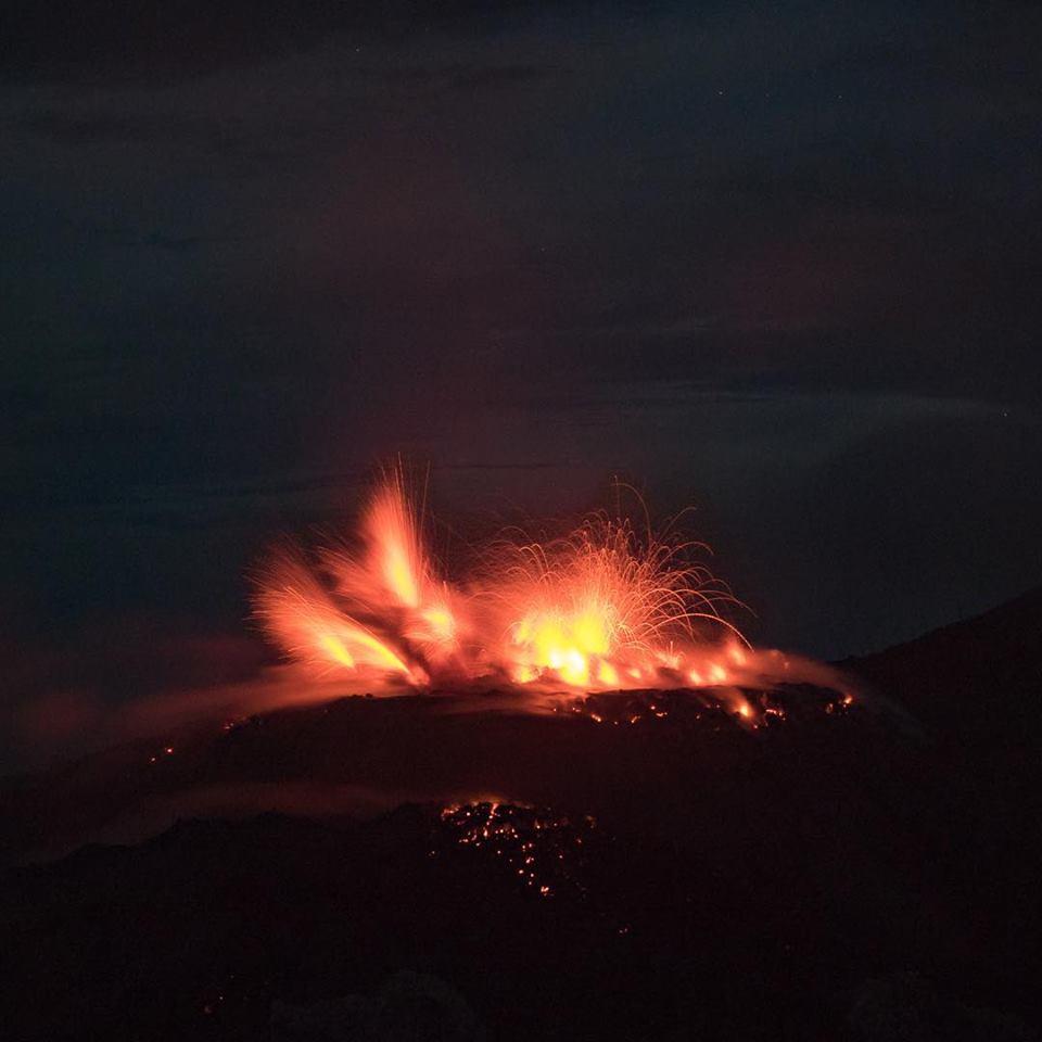 November 14 , 2018.  EN.  Iceland : Bárðarbunga , Colombia : Chiles / Cerro Negro , Kilauea : Hawai , Indonesia : Ibu .