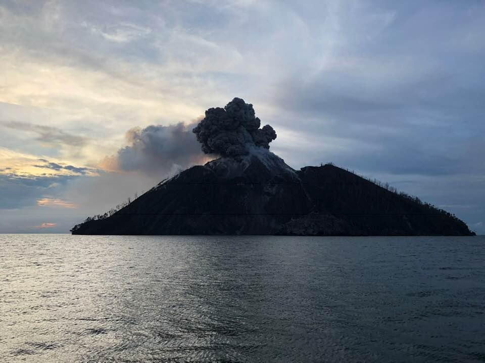 December 06 , 2018.  EN.  Japan : Kirishimayama , Papua New Guinea : Kadovar , Guatemala : Fuego , Alaska : Veniaminof .