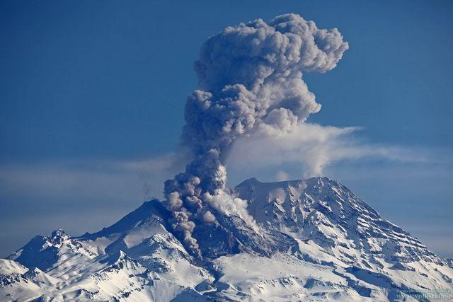 December 21 , 2018. EN. Kamchatka : Sheveluch , Colombia : Nevado del Huila , Guatemala : Fuego , Costa Rica : Turrialba / Poas .