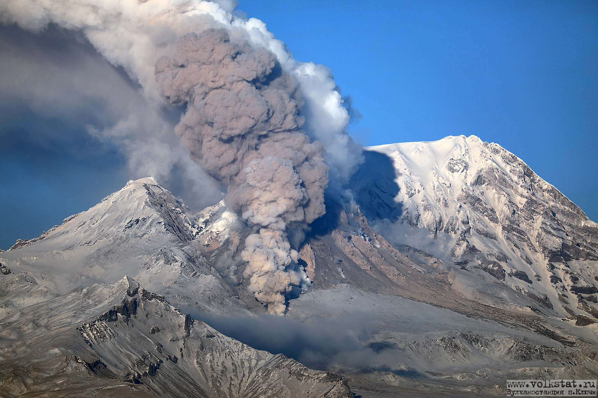February 10 , 2019. EN.  Kamchatka : Sheveluch , Colombia : Nevado del Ruiz , Indonesia : Merapi , Chili : Chaiten .