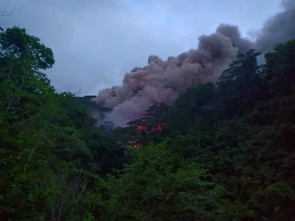 06 Fevrier 2019. FR . Indonésie : Karangetang , Colombie : Nevado del Huila , Hawaii : Kilauea , Chili : Villarica , Etats- Unis : Chaine des Cascades .
