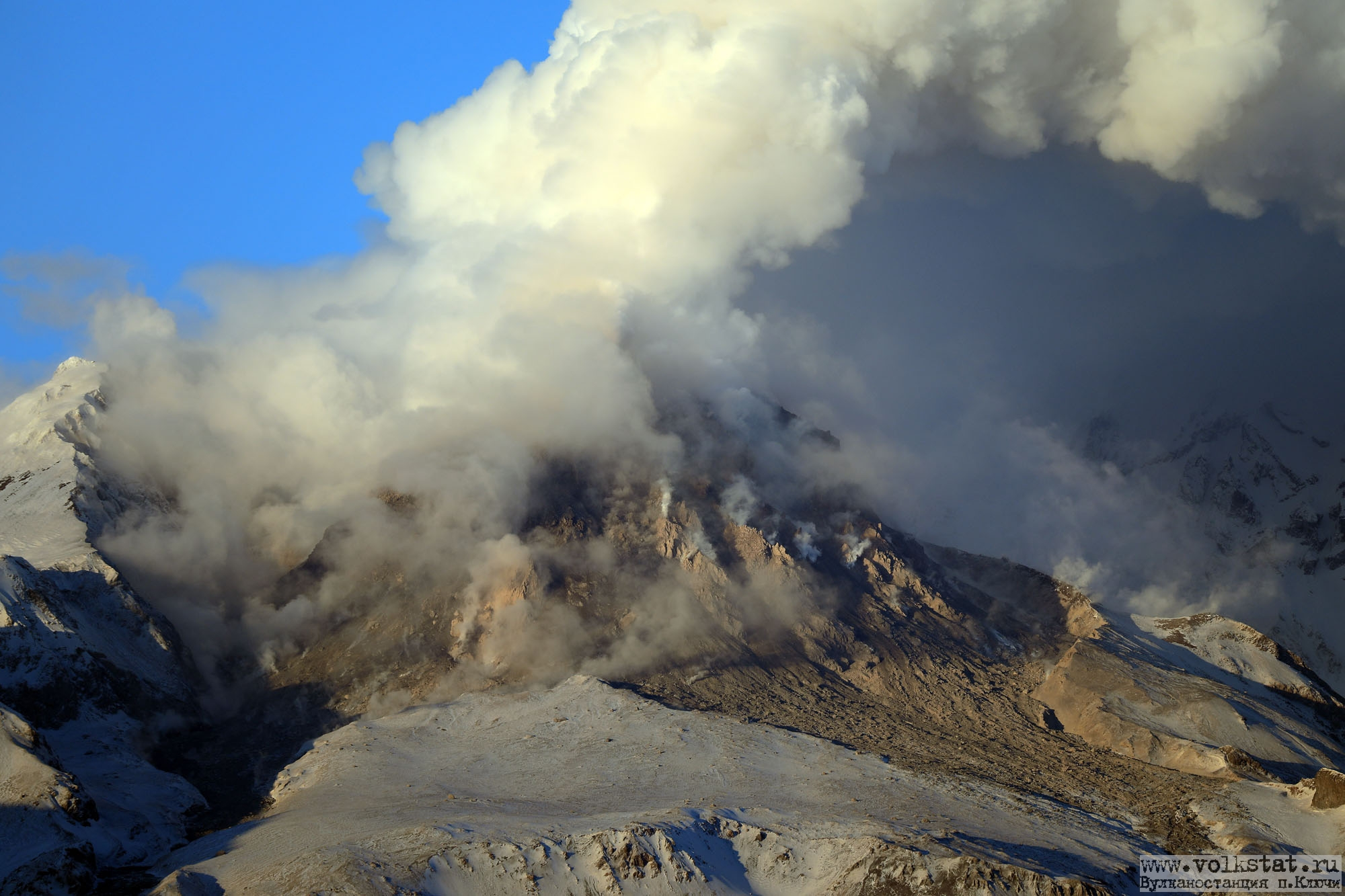 March 10 , 2019. EN.  Kamchatka : Sheveluch , La Réunion : Piton de la Fournaise , Indonesia : Merapi , Mexico : Popocatepetl .
