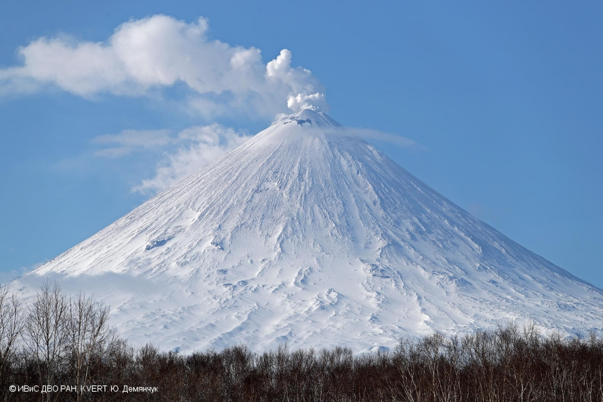 April 22, 2019. EN . Kamchatka : Klyuchevskoy , Philippines : Taal , Indonesia : Agung , Ecuador : Reventador .