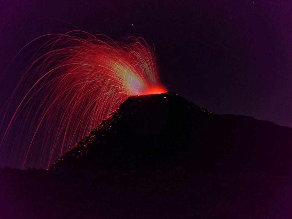 April 18, 2019. EN . Costa Rica : Rincon de la Vieja , Colombia : Nevado del Ruiz , Indonesia : Bromo , Japan : Aira (Sakurajima) , Guatemala : Pacaya .