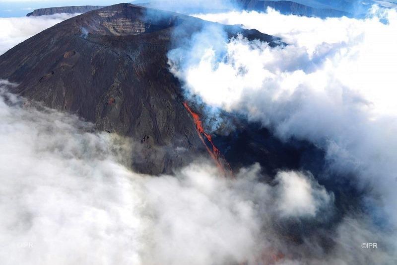 June 13 , 2019. EN. La Réunion : Piton de la Fournaise .