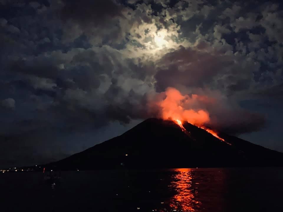 July 14, 2019. EN. Italy : Stromboli , Ecuador : Sangay , Indonesia : Bromo , Guatemala : Fuego .