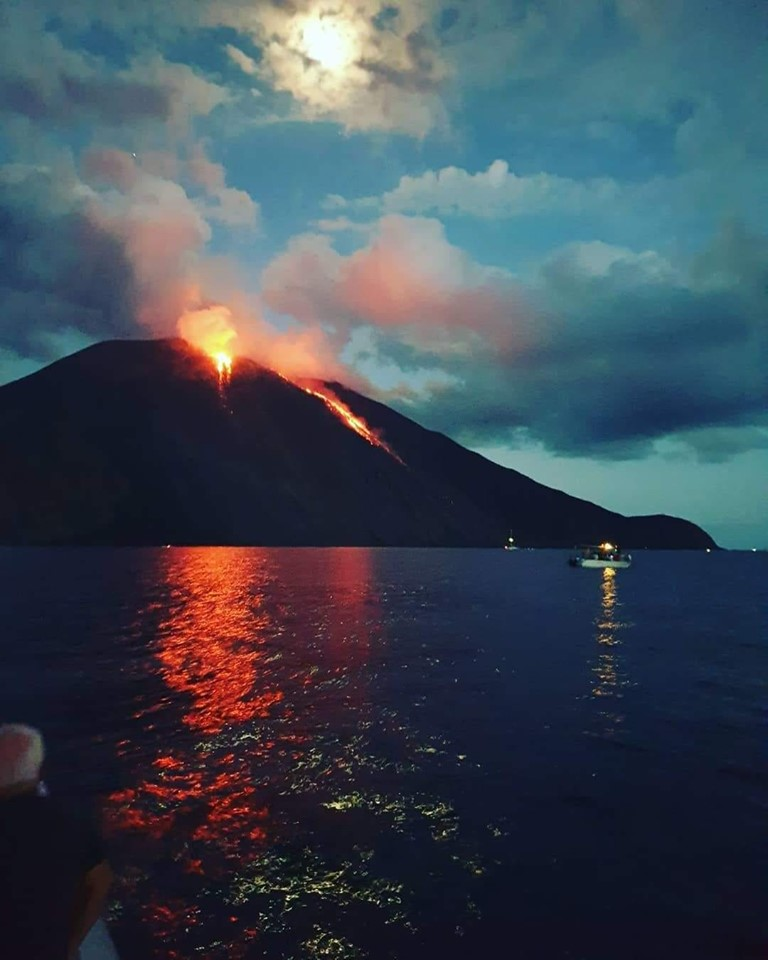 July 13, 2019. EN. Italy : Stromboli , Alaska : Shishaldin , Mexico : Colima , Indonesia : Merapi .