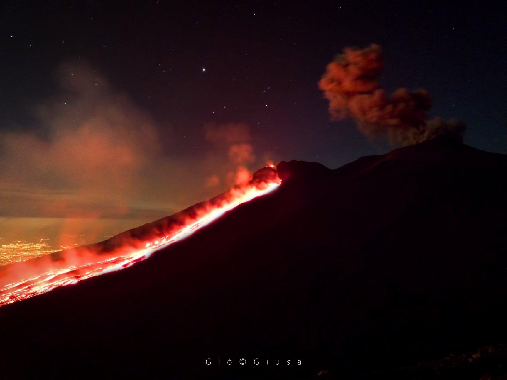22 Juillet 2019. FR . Italie / Sicile : Etna , Kamchatka : Ebeko , Guatemala : Pacaya , Indonésie : Agung .
